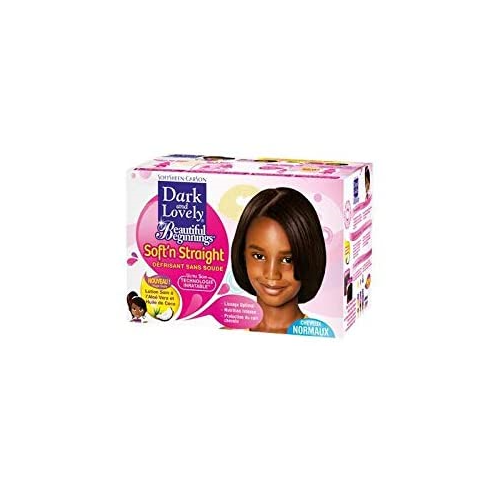 Dark & Lovely B/B No-Lye Relaxer Kit