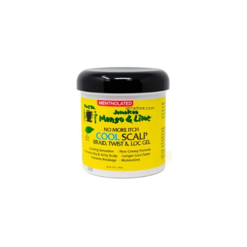 J/M & Lime No More Itch Cool Scalp Twist & Lock Gel