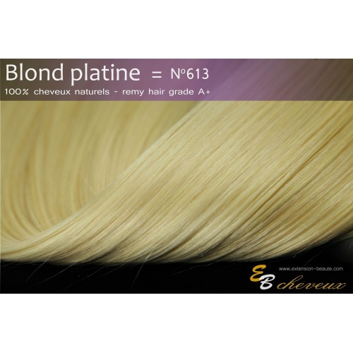 Extension à froid Blond platine N°613