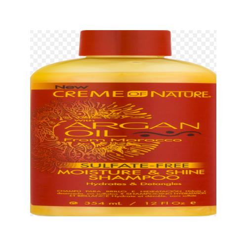 Creme Of Nature Argan Oil Moist & Shine Shampoo 12oz (340g)