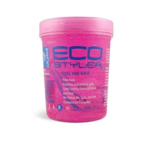 EcoStyler : Pink Gel (Curl & Wave) 24oz (709ml)