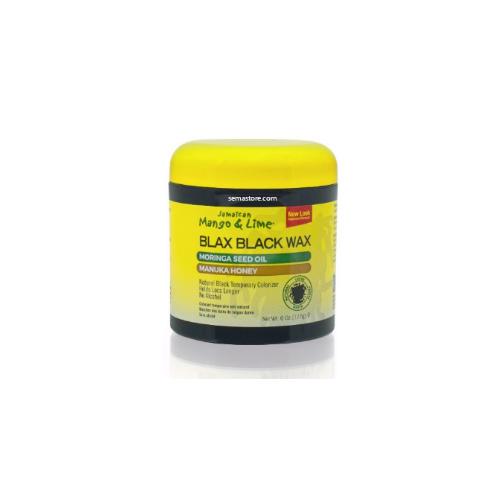 J/M Blax Black Wax 6oz (177ml)