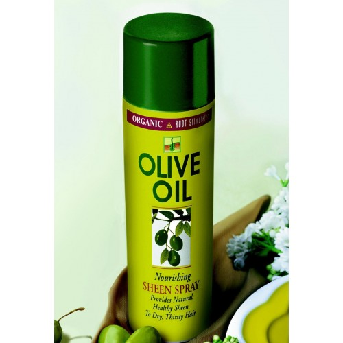 Oil sheen (spray à l'Huile d'Olive)